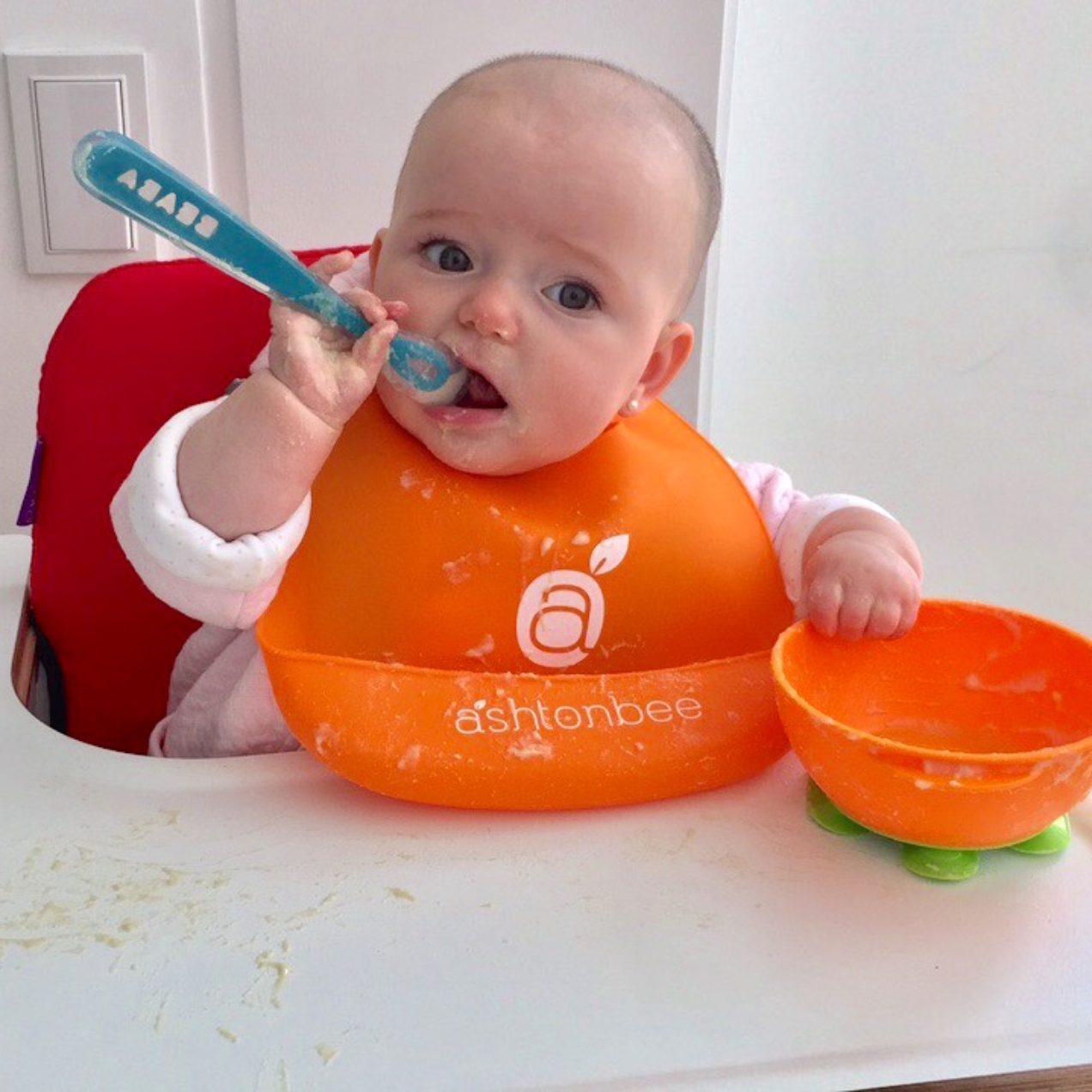 tips de una mamá para empezar Baby-Led Weaning