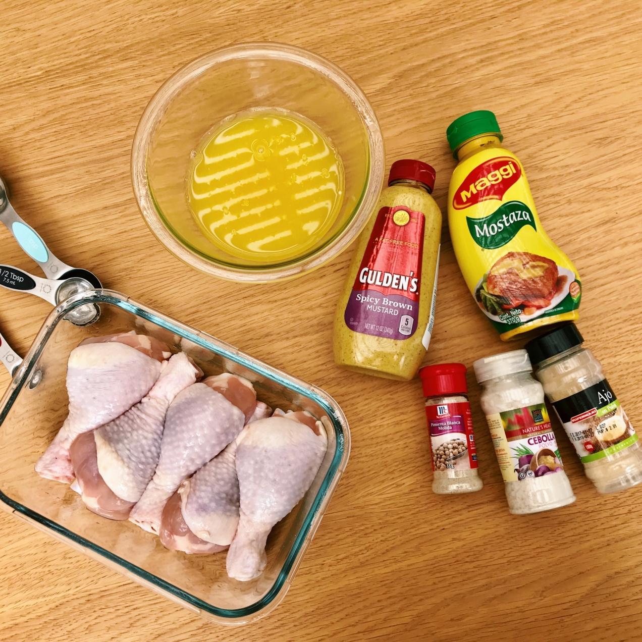 pollo casero al horno