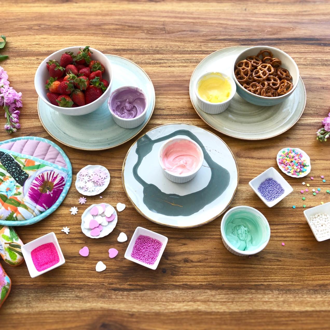 Corazones de Pretzels y la Diversión del Food Craft