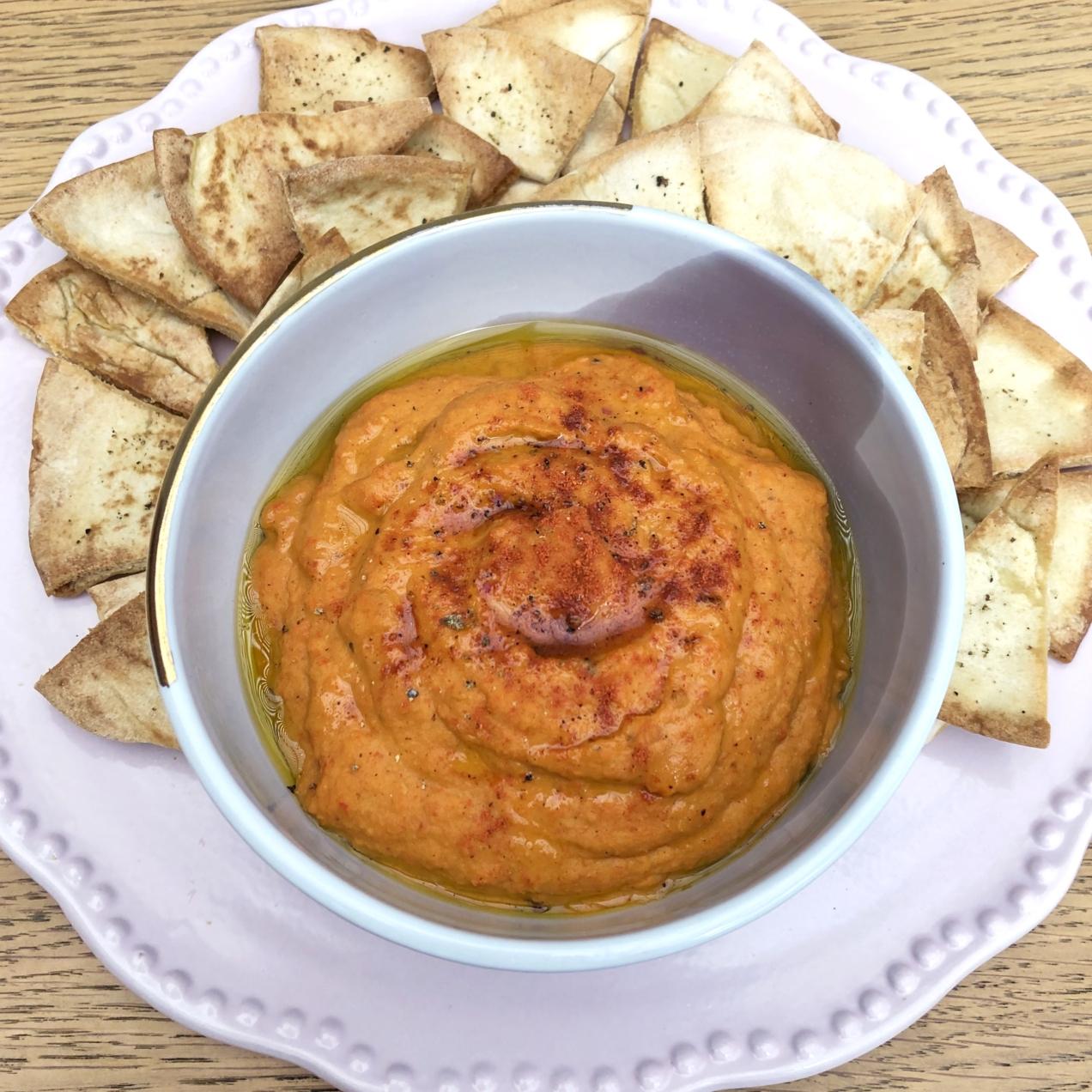 Hummus de Pimiento Rostizado