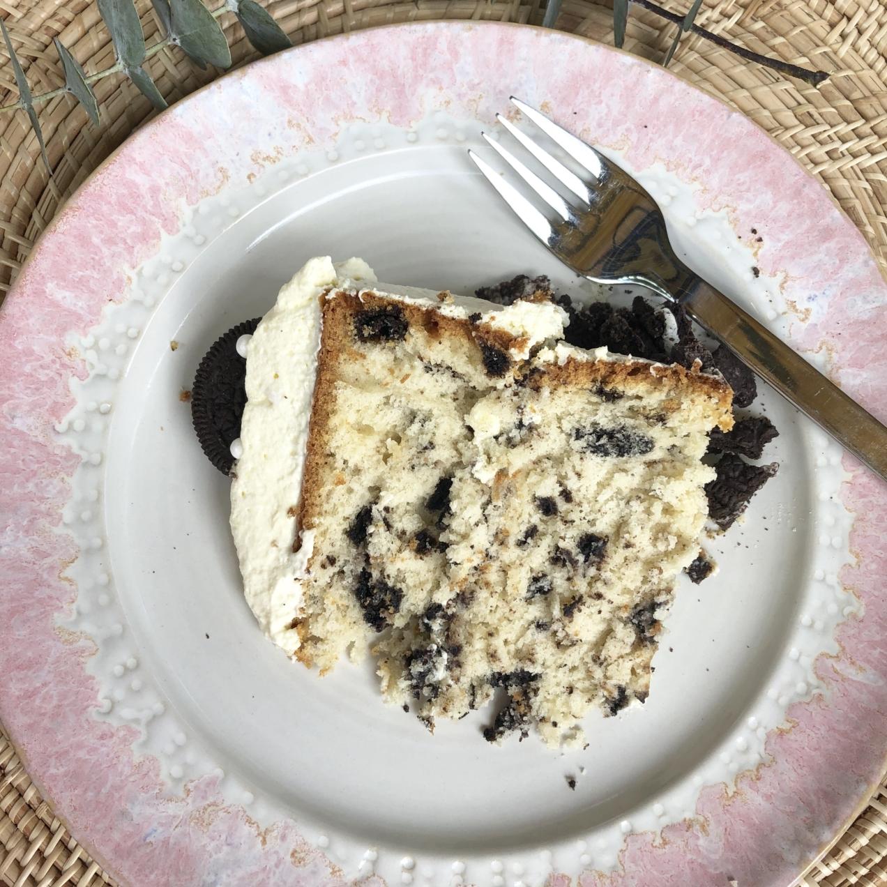 Pastel de Cookies and Cream
